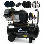 Compresor de aer industrial 2 cilindri 530 l/min 50L 2.2kW230v B-V2-2047-50L