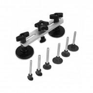 Dispozitiv pentru indreptat tabla caroseriei 7 adaptoare KD10660 Kraftdele