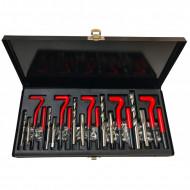 Kit profesional de reparare filete M5-M12 131 elemente VERKE V86230
