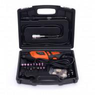 Mini freza electrica 230V 270W 40 piese 35000 rpm KD10750 Kraftdele