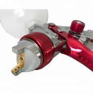 Pistol de vopsit pneumatic 1.3 mm pahar 600 ml VERKE HVLP V81297