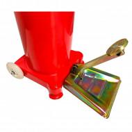Pompa de gresat actionata la picior recipient 15L V86132 VERKE