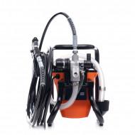 Pompa zugravit vopsit airless electrica cu piston 1450W 206 bari KD1746 Kraftdele