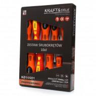 Set surubelnite 10 elemente KraftDele KD10901