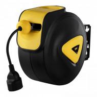 Tambur retractabil pentru cablu electric automat 10 m + 1,5 m PRO-E 10