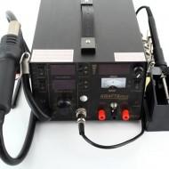 Statie de lipit cu aer cald si letcon 5 in 1 800W KraftDele KD856 TBC