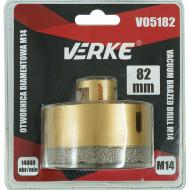 Carota diamantata pentru piatra, gresie si beton 82mm M14 V05182 Verke