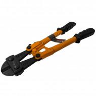 """Cleste fier beton 300mm 12"""" 5mm cu manere ergonomice VERKE V06250"""