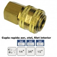 Cupla rapida aer, alama, stiut furtun 10 mm ADLER MA3024.3
