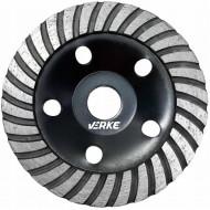 Disc diamantat pentru slefuit beton tip turbo 125mm x 22.2mm V44200 Verke