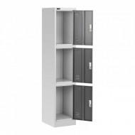 Dulap depozitare metalic 3 comp. modular 38x45x185 cm STAR_MCAB_05 FrommStarck 10260016