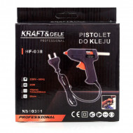 Pistol de lipit cu silicon glue gun 20W KD10351 KraftDele
