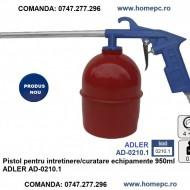 Pistol pentru intretinere/curatare echipamente 950ml ADLER AD-0210.1