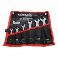 Set chei combinate 6 elemente 8-21mm KraftDele KD10935