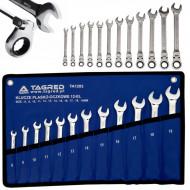 Set chei combinate inelare cu clichet 12 elemente 8-19mm TA1203 TAGRED
