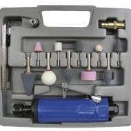 Set polizor biax pneumatic cu accesorii 12 piese ADLER AD-012Z PROFI
