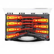 Set surubelnite electrician 8 elemente, 1000V KraftDele KD10906