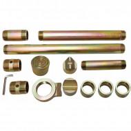 Set trusa hidraulica indreptat caroserie 20T + accesorii Verke V86370