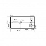 Troliu Manual 816kg 10m 4.8 mm VERKE V87251