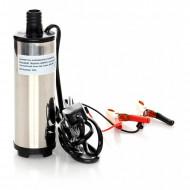 Mini pompa transfer motorina si ulei 12V 60W 20L/min KraftDele KD1170