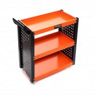 Carucior depozitare unelte cu 3 rafturi pentru atelier KD365 KraftDele