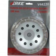 Disc diamantat pentru slefuit beton tip segment 180mm x 22.2mm V44220 Verke