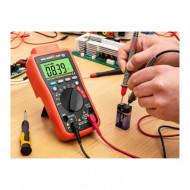 Multimetru digital cu citire temperatură cu USB SBS-DM-1000USB STEINBERG 10030398