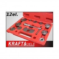 Presa etrier universala placute frana, 12 piese KraftDele KD10214