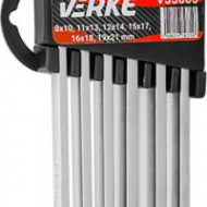 Set 6 chei combinate inelare executie lunga 8-21mm V35005 Verke