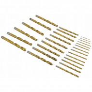 Set burghie metal in cutie metalica 29 de elemente 13mm VERKE V05071B