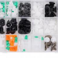 Set de 160 clipsuri si cleme caroserie auto marca AUDI TA1150