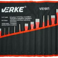 Set dornuri si dalti 12 elemente otel calit V87001 Verke