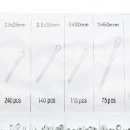 Set se stifturi drepte 1000 bucati KraftDele KD10509