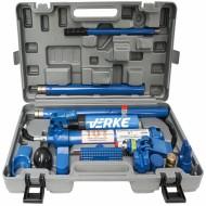 Set trusa hidraulica indreptat caroserie 10T + accesorii VERKE V86368