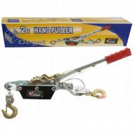 Troliu manual 4 tone cablu 2.5m 6mm winch VERKE V87256