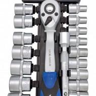 """Set de chei tubulare cu clichet 21 elem. 1/2"""" 8-30mm ADLER MA3553.5"""