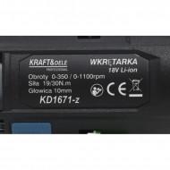 Autofiletanta pe acumulator 18V 1.3Ah (2 bucati) KraftDele KD1671-Z