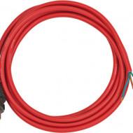 Cablu electric 3m AT-N07V3V3-F 3G1.5 portocaliu cu stecher turnată DE/BE B1160450 Brennenstuhl