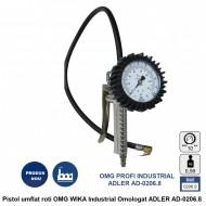 Pistol umflat roti OMG WIKA Industrial Omologat ADLER AD-0206.8