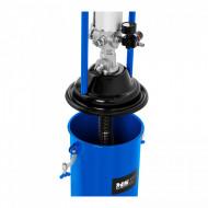 Pompa de gresat pneumatica mobila 12L 300-400 bari PRO-G 12M 10060839 MSW