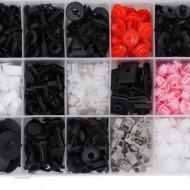 Set de 360 clipsuri si cleme caroserie auto marca TOYOTA, LEXUS TA1139
