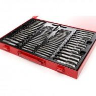 Set trusa tarozi si filiere 110 elemente KraftDele KD10250