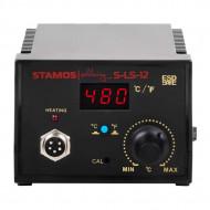 Statie de lipire cu letcon si stativ 65W S-LS-12 Basic Stamos 10021020