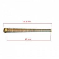 Teava racord cu radiator pentru cap compresor aer 17 mm 465 mm B-ACP2055