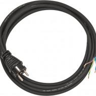 Cablu electric 3m H05RR-F 3G1,5 negru cu stecher turnată DE/BE B1160330 Brennenstuhl