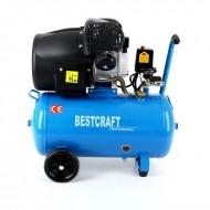 Compresor de aer industrial 50 litri, 2 cilindri, 3kW, 220V EC1484