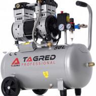 Compresor de aer profesional fara ulei 50L 10 bari 1100W 230 l/min 60dB TA375