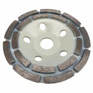Disc diamantat pentru slefuit beton tip segment 125mm x 22.2mm V44201 Verke