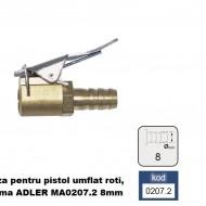 Duza pentru pistol umflat roti, alama ADLER MA0207.2 8mm