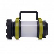 Lanterna T6 LED cu acumulator 3A, lumini laterale 240m KD1240 KraftDele